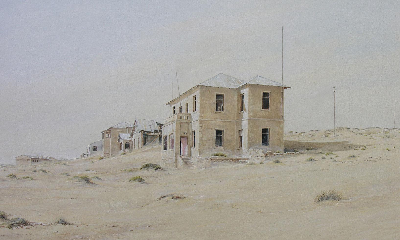 Top Road , Kolmanskop