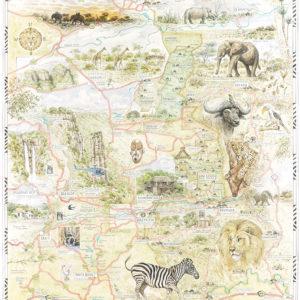 Kruger Map