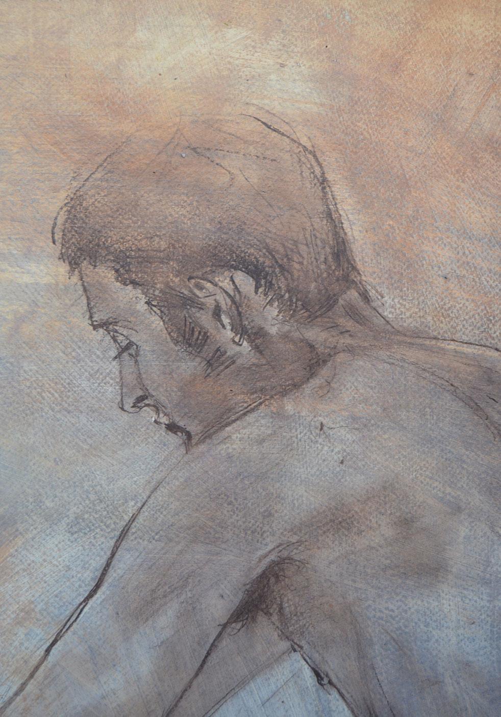 Man closeup